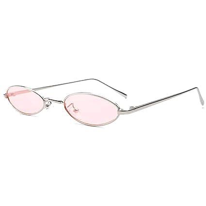 Fiesta Fuera Gafas de sol ovaladas estilo Steampunk Gafas de ...