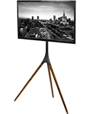 VIVO Artistic Easel 45 to 65 inch LED LCD Screen | Studio TV Display Stand | Adjustable TV Mount with Swivel and Tripod Base