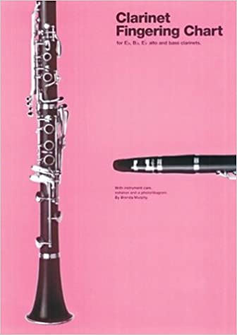Amazon.Com: Amsco Clarinet Fingering Chart (Amsco Fingering Charts