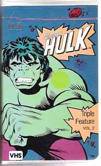 The Incredible Hulk Triple Feature Vol  2