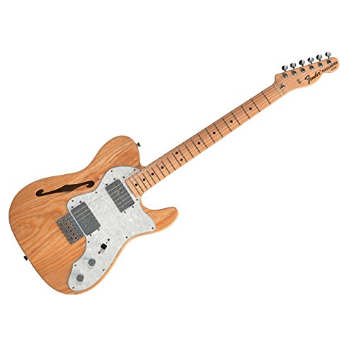 Fender Classic Series '72 Telecaster Thinline Maple Natural Brand New!
