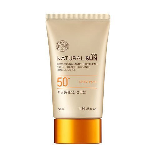 [The Face Shop] Natural Sun Eco Power Long Lasting Sun Cream SPF50+ PA+++...