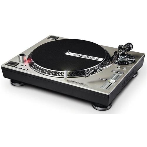 Reloop RP-7000 Quartz Driven DJ Turntable with Upper-Torque Direct Drive, Silver (RP-7000-SLV) by Reloop