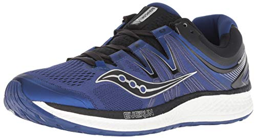 Saucony Men's Hurricane ISO 4 Sneaker, Blue/Black, 095 M US