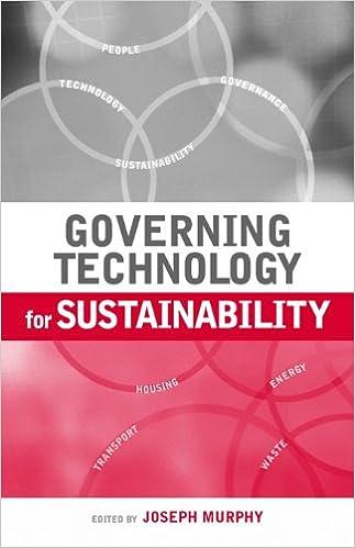 Read Governing Technology for Sustainability PDF, azw (Kindle), ePub, doc, mobi