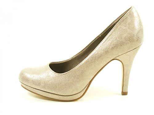Tamaris 1-22407-29-350 zapatos de tacón mujer Beige