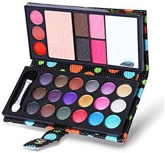 RY@ 26 Paleta de Sombras de Ojos Seco Paleta de sombra de ojos Polvo Muestra Maquillaje de Diario , black: Amazon.es: Belleza