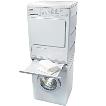 miele laundry bundle miele w3038 washer u0026 miele t8023c electric ventless dryer with stacking kit