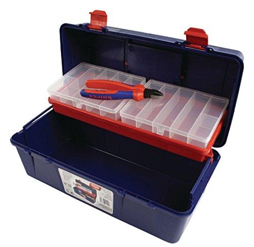Profi Werkzeugkoffer + Sortimentsboxen Set für Werkzeug; Schrauben, Zubehör