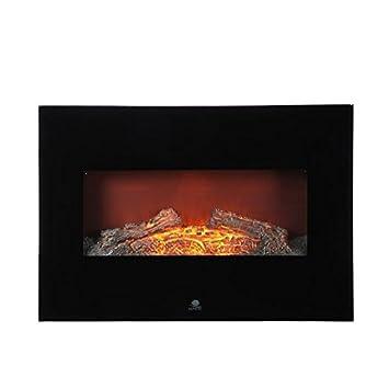 Taurus Ce6 Cheminee Electrique Murale Miroir 1800 W Amazon Fr