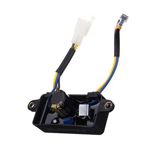 Alamor R/égulateur De Tension Automatique Avr Pour G/én/érateur DEssence Monophas/é 2-3Kw Noir