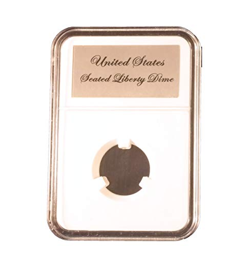 Little Bear Elite Certified-Style Coin Holder for Liberty Seated or Barber Dimes ()