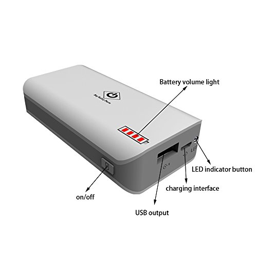 Two X Bay Valley Parts 174 4000mah External Rechargeable