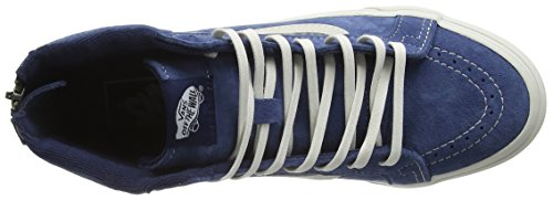 Zapatillas Obsidian Unisex Blanc Blanc Sk8 Slim hi de Vans Adulto Zip Scotchgard Azul TwIfaq4