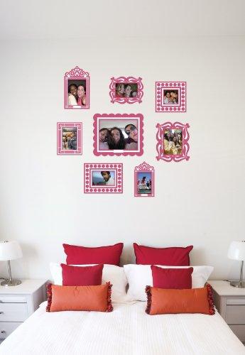 BUTCH & harold Stickr Frame, Package of 8 Pink Frames ()