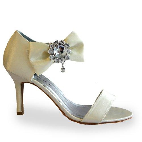 Footwear Sensation - Zapatos de vestir para mujer Blanco - Ivory