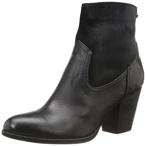 Black Tessa Zip Boot Short Women's FRYE q1PYSxf