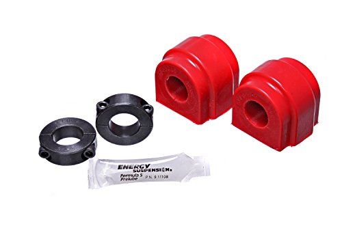 2016 Energy Suspension - Energy Suspension 11.5116R FRONT SWAY BAR BUSHING 22mm SET