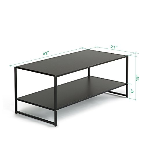 Zinus Modern Studio Collection Deluxe Rectangular Coffee Table, Espresso by Zinus (Image #1)