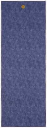 yogitoes Yoga Mat Towel, Indigo Denim, 68