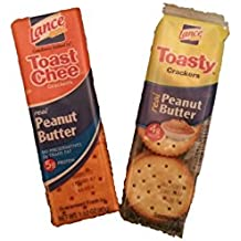 Lance Peanut Butter Sandwich Crackers Combo - Toast Chee & Toasty (20 packs of each)