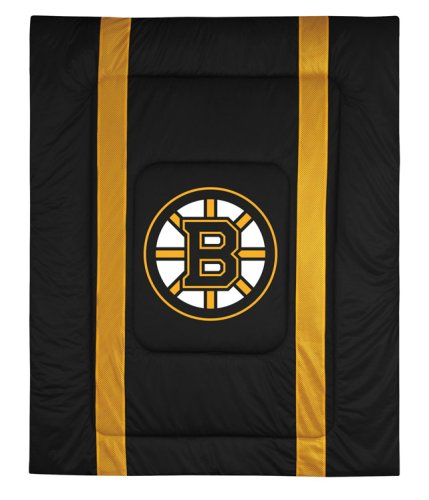 Twin Bed Sideline Comforter - NHL Boston Bruins Sideline Comforter Queen