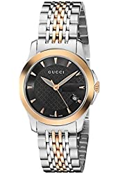 GUCCI Women's YA126512 G-Timeless Stainless Steel Watch