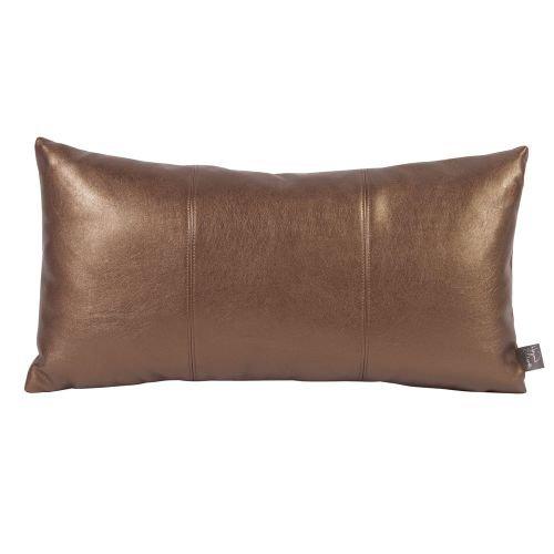 Howard Elliott 4-772 Kidney Pillow, Luxe Bronze - Luxe Bolster