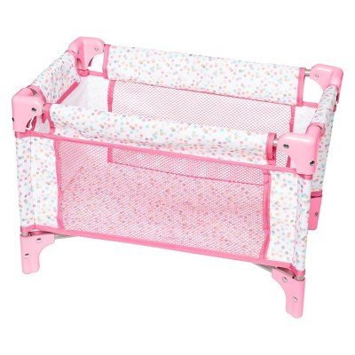 Amazon Com Perfectly Cute Baby Doll Folding Crib Playpen Toys