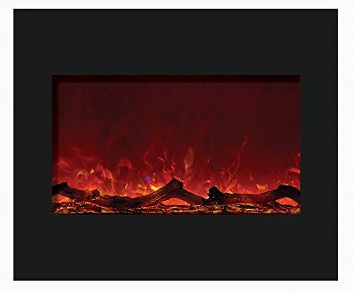 Cheap Amantii ZECL-30-3226-FLUSHMT Zero Electric Fireplace Black Friday & Cyber Monday 2019