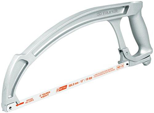 TRUPER ATI-12 Industrial Aluminum Hacksaw Frame, TPR Handle by Truper