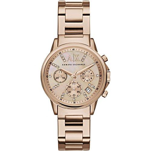Ladies Armani Exchange Chronograph Watch - Armani Exchange Uk