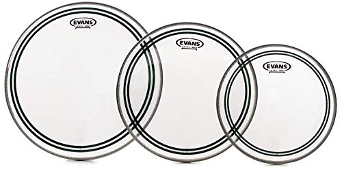 Evans EC2 SST Clear Drum Head Pack Fusion - 10/12/14 ()