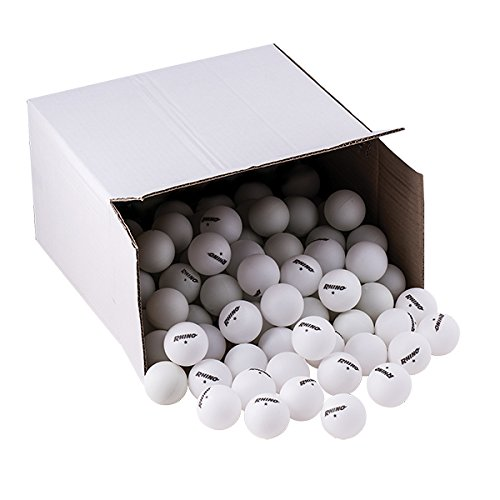 Champion Sports 1 Star Table Tennis Ball Pack - White Ping Pong Balls, Set of 144, with 40mm Seamless Design - Recreation Table Tennis Equipment, Accessories