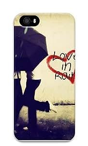 Case For Iphone 4/4S Cover Love In Rain 3D Custom Case For Iphone 4/4S Cover