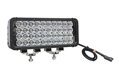Infrared LED Light Emitter - 40 LEDs - 120 Watts - 850 or 940 NM - 1300'L X 180'W Spot Beam - 9-42V(-Flood-940nm-Black)