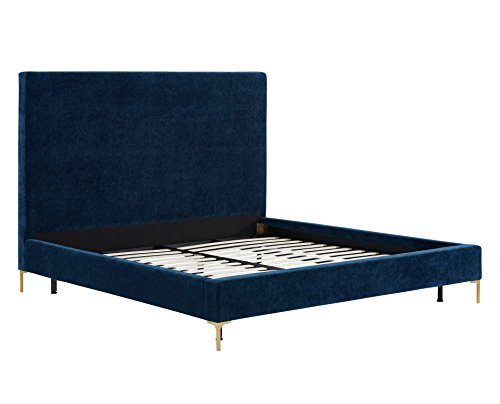 Modern Wood Finish Bed - 7