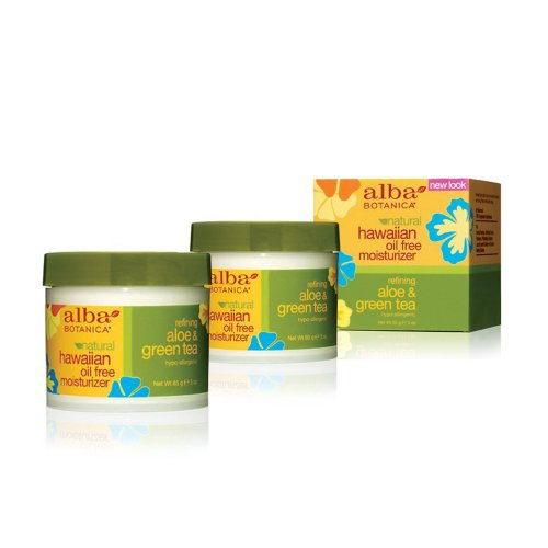 Alba Botanica Hawaiian Oil Free Moisturizer 85 gr/2.87 oz (Set of 2)