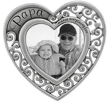 (Malden Papa Heart Picture Frame)
