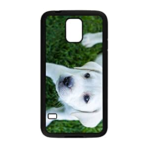 White Dog Hight Quality Plastic Case for Samsung Galaxy S5