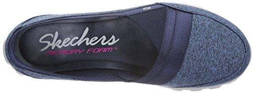 Skechers Ez Flex 2Fascination, Bailarinas para Mujer Azul - azul (Nvy)