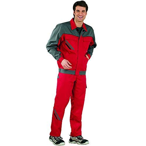 Planam 2316060 Highline Blouson de travail Taille 60 en Rouge/Ardoise/Noir