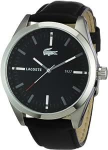 Lacoste MONTREAL 2010611 - Reloj para hombres, correa de cuero color negro