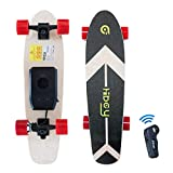 Hiboy S01 Electric Skateboard Portable 8.6lbs Longboard with Hub Motor 12.5MPH Top Speed and Remote Control for Beginner and Youth