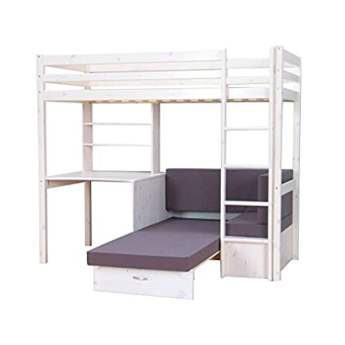 hochbett mit sofa. Black Bedroom Furniture Sets. Home Design Ideas