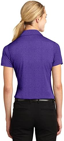 J30-36. New Ladies Finden and Hales Performance Sports Polo Purple//Navy XL//16