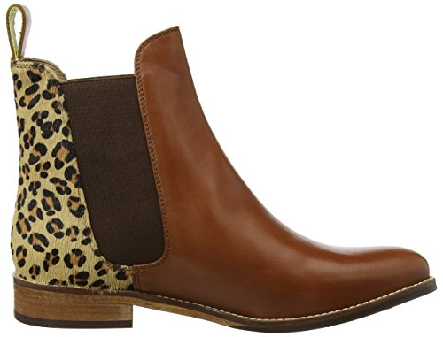 Joules Westbourne Stivali Chelsea Donna Marrone leopard