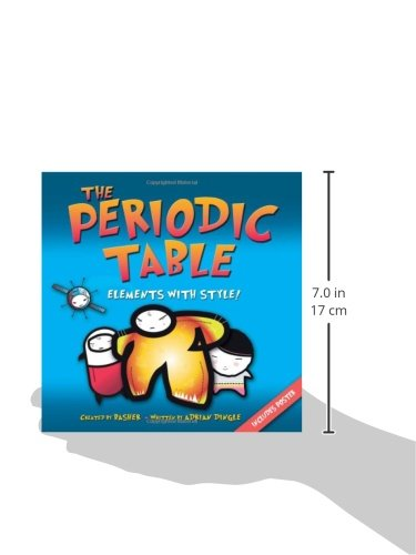 The periodic table elements with style simon basher adrian the periodic table elements with style simon basher adrian dingle 9780753460856 amazon books urtaz Image collections