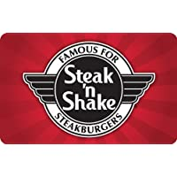 $25 Steak N Shake Gift Card Email Delivery