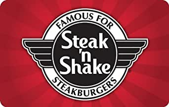 Steak 'N' Shake Gift Card $25